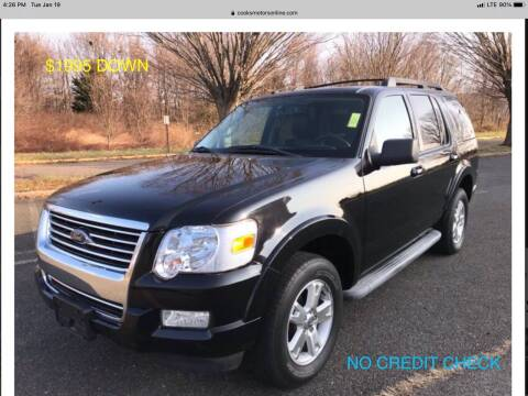 2010 Ford Explorer for sale at Cooks Motors in Westampton NJ