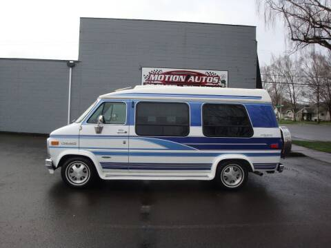 1995 GMC Vandura for sale at Motion Autos in Longview WA
