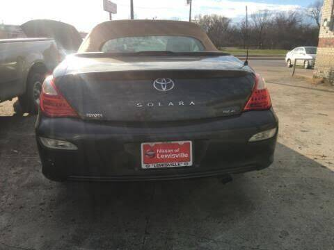 2007 Toyota Camry Solara for sale at OLVERA AUTO SALES in Terrell TX