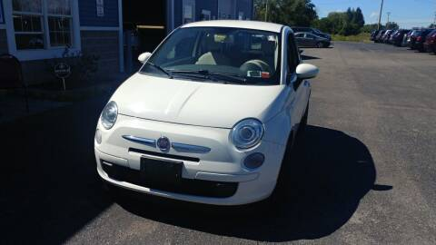 2013 FIAT 500 for sale at Pool Auto Sales Inc in Spencerport NY