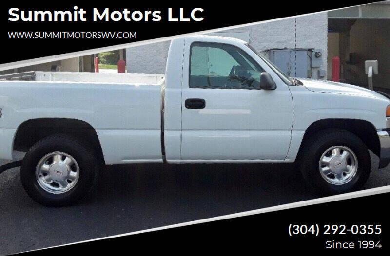 2000 GMC Sierra 1500 for sale at Summit Motors LLC in Morgantown WV