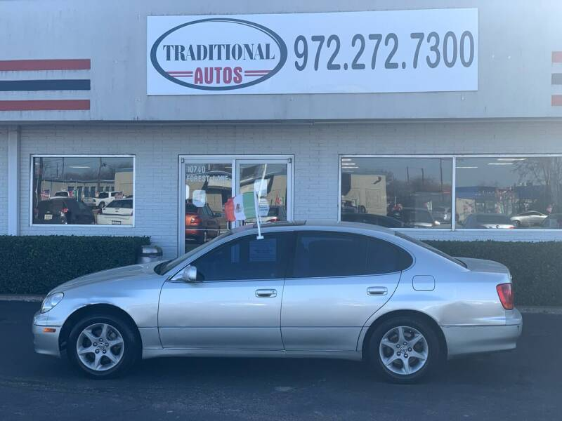2001 Lexus GS 300 for sale at Traditional Autos in Dallas TX