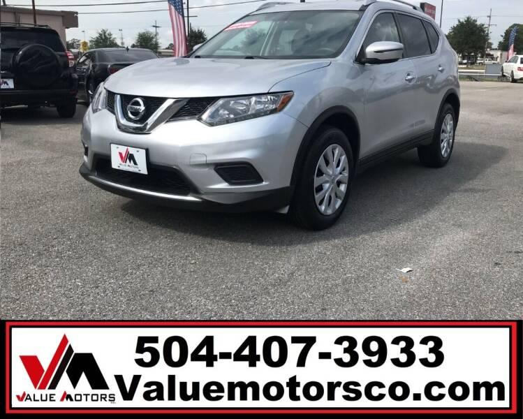 2016 Nissan Rogue for sale at Value Motors Company in Marrero LA