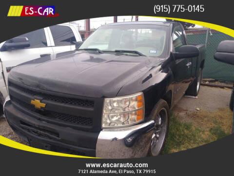 2012 Chevrolet Silverado 1500 for sale at Escar Auto in El Paso TX