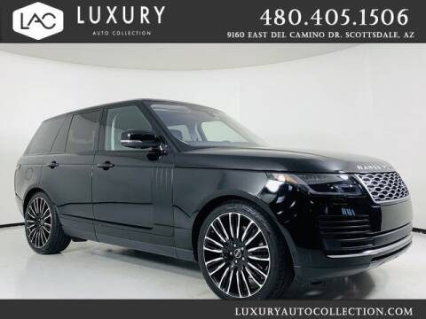 2020 Land Rover Range Rover for sale at Luxury Auto Collection in Scottsdale AZ