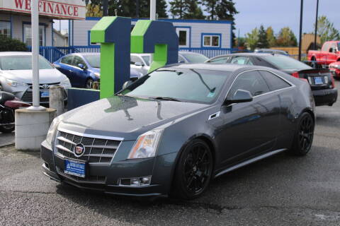 2011 Cadillac CTS for sale at BAYSIDE AUTO SALES in Everett WA