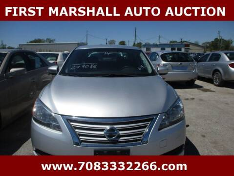2014 Nissan Sentra for sale at First Marshall Auto Auction in Harvey IL