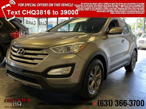 2015 Hyundai Santa Fe Sport for sale at CERTIFIED HEADQUARTERS in Saint James NY