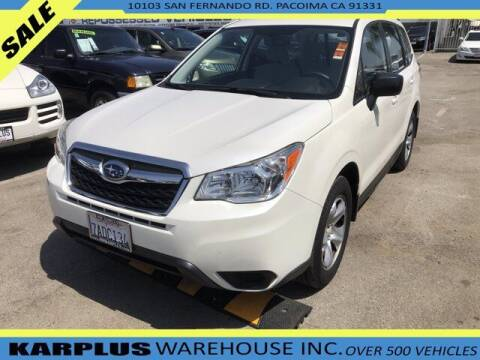 2014 Subaru Forester for sale at Karplus Warehouse in Pacoima CA