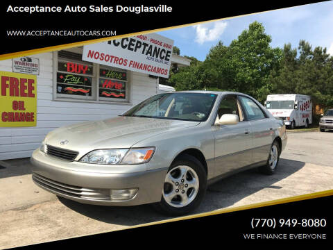 1998 Lexus ES 300 for sale at Acceptance Auto Sales Douglasville in Douglasville GA
