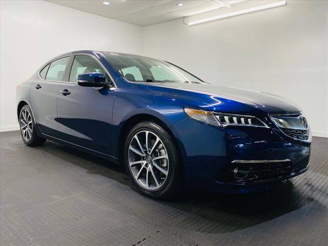 2015 Acura TLX for sale at Champagne Motor Car Company in Willimantic CT