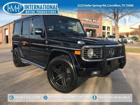 2005 Mercedes-Benz G-Class for sale at International Motor Productions in Carrollton TX
