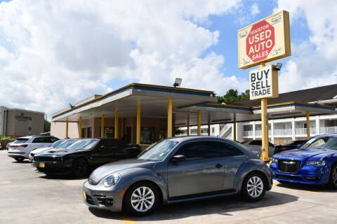 2018 Volkswagen Beetle for sale at Houston Used Auto Sales in Houston TX
