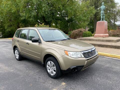 2009 Subaru Forester for sale at BOOST AUTO SALES in Saint Charles MO