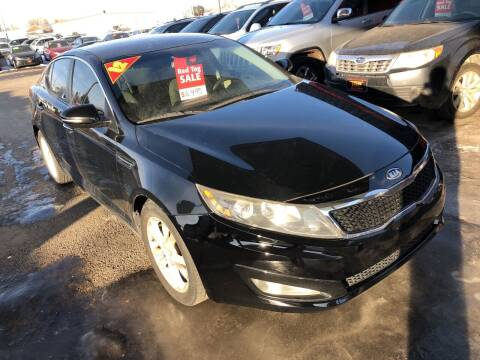 2012 Kia Optima for sale at Top Line Auto Sales in Idaho Falls ID