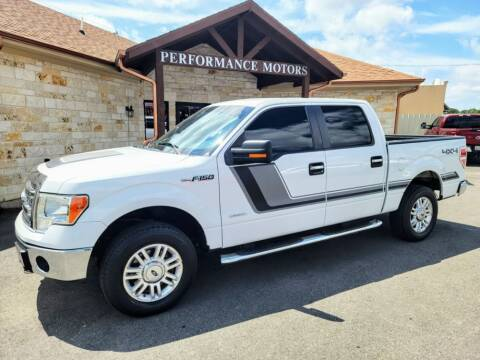 2014 Ford F-150 for sale at Performance Motors Killeen Second Chance in Killeen TX