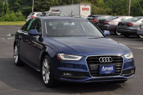 2014 Audi A4 for sale at Amati Auto Group in Hooksett NH