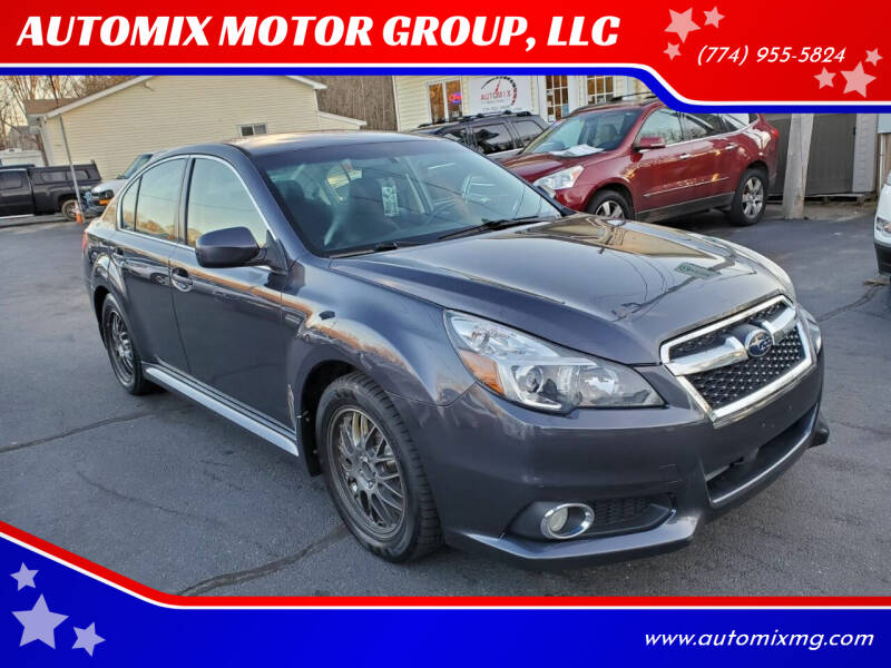 2013 Subaru Legacy for sale at AUTOMIX MOTOR GROUP, LLC in Swansea MA
