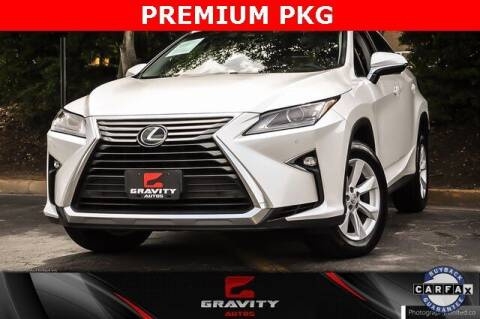 2017 Lexus RX 350 for sale at Gravity Autos Atlanta in Atlanta GA