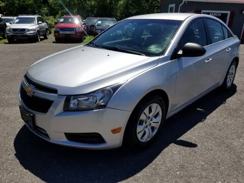 2012 Chevrolet Cruze for sale at Arcia Services LLC in Chittenango NY