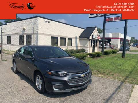 2018 Chevrolet Malibu for sale at The Family Auto Finance in Redford MI