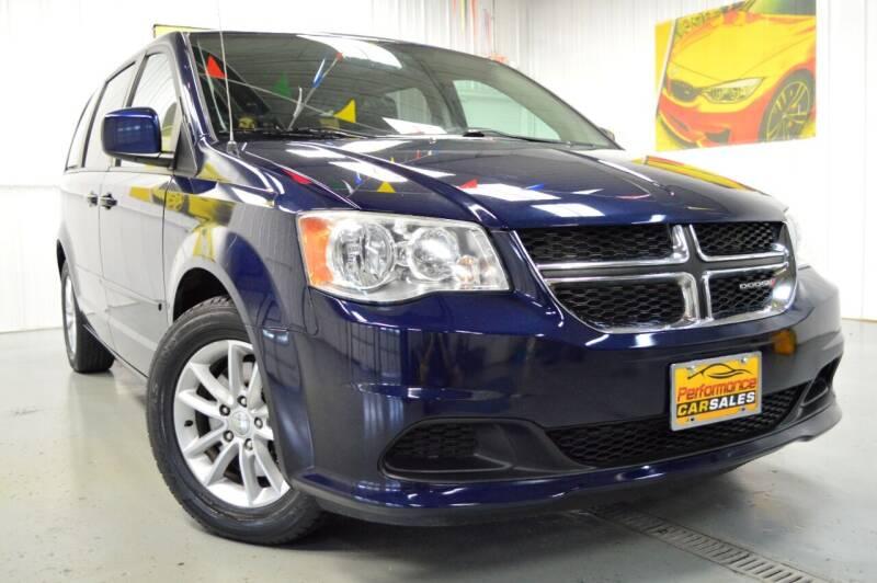 2014 Dodge Grand Caravan for sale at Performance car sales in Joliet IL