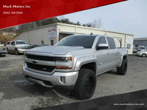 2017 Chevrolet Silverado 1500 for sale at Mark Motors Inc in Gray KY