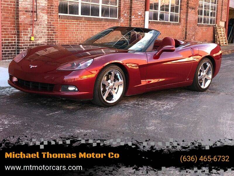 2007 Chevrolet Corvette for sale at Michael Thomas Motor Co in Saint Charles MO