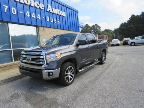 2017 Toyota Tundra for sale at Southern Auto Solutions - 1st Choice Autos in Marietta GA