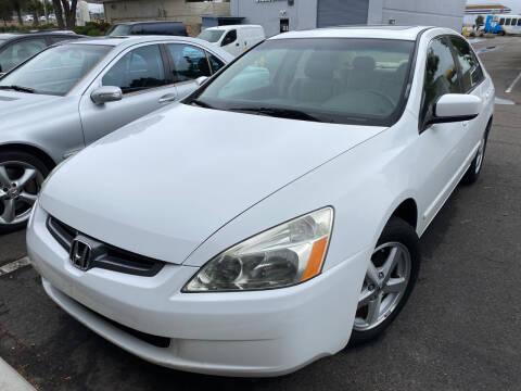 2005 Honda Accord for sale at Cars4U in Escondido CA