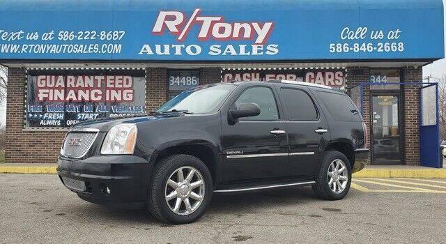 2010 GMC Yukon for sale at R Tony Auto Sales in Clinton Township MI