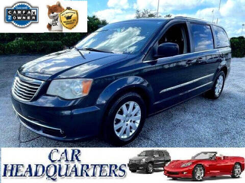 2014 Chrysler Town and Country for sale at CAR  HEADQUARTERS in New Windsor NY