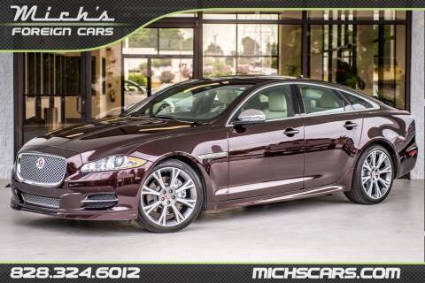 2015 Jaguar XJ for sale at Mich's Foreign Cars in Hickory NC