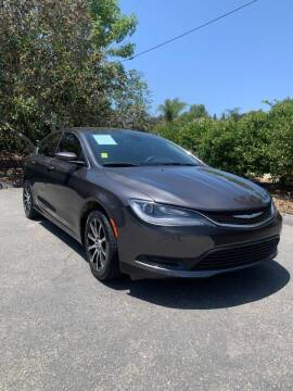 2015 Chrysler 200 for sale at North Coast Auto Group in Fallbrook CA