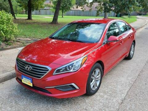 2017 Hyundai Sonata for sale at Amazon Autos in Houston TX