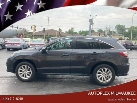 2016 Acura RDX for sale at Autoplex 2 in Milwaukee WI