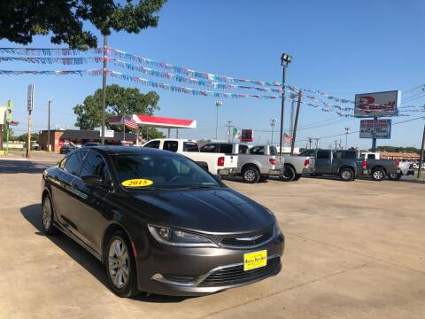 2015 Chrysler 200 for sale at Russell Smith Auto in Fort Worth TX