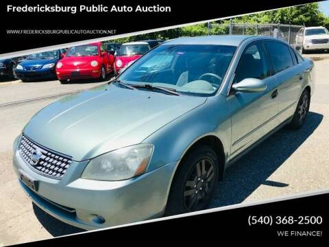 2005 Nissan Altima for sale at FPAA in Fredericksburg VA