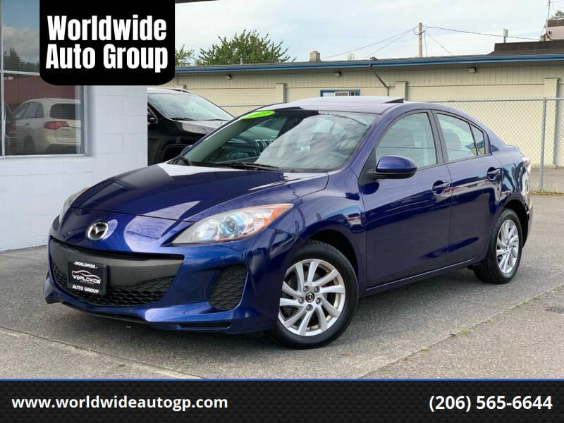 2013 Mazda MAZDA3 for sale at Worldwide Auto Group in Auburn WA