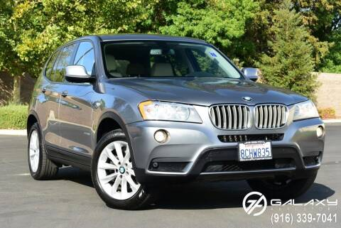 2014 BMW X3 for sale at Galaxy Autosport in Sacramento CA