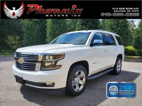2015 Chevrolet Tahoe for sale at Phoenix Motors Inc in Raleigh NC