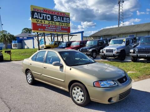 2001 Nissan Sentra for sale at Mox Motors in Port Charlotte FL