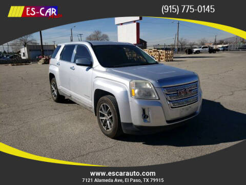 2011 GMC Terrain for sale at Escar Auto in El Paso TX