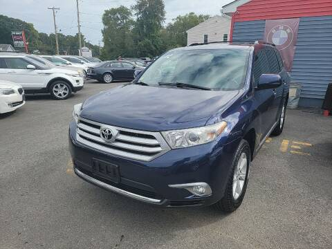 2012 Toyota Highlander for sale at Top Quality Auto Sales in Westport MA