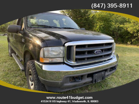 2004 Ford F-250 Super Duty for sale at Route 41 Budget Auto in Wadsworth IL