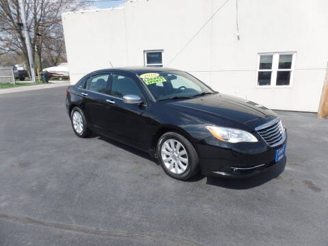 2013 Chrysler 200 for sale at DeLong Auto Group in Tipton IN