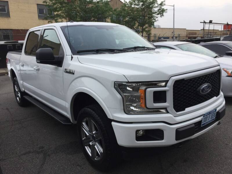 2018 Ford F-150 for sale at LUXURY OF QUEENS,INC in Long Island City NY
