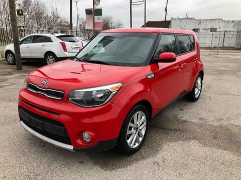 2019 Kia Soul for sale at Saipan Auto Sales in Houston TX