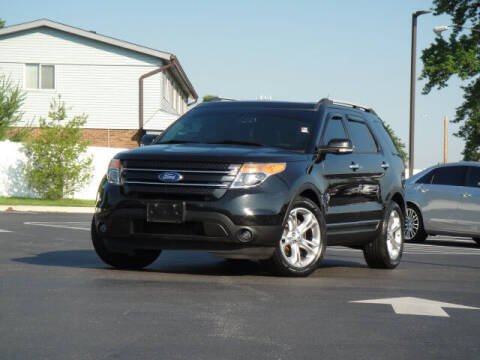 2014 Ford Explorer for sale at Jack Schmitt Chevrolet Wood River in Wood River IL