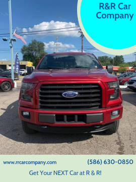 2016 Ford F-150 for sale at R&R Car Company in Mount Clemens MI